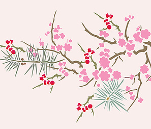 Japanese floral motif | Year 4 Maths: Japanese Motifs | Scoop.it