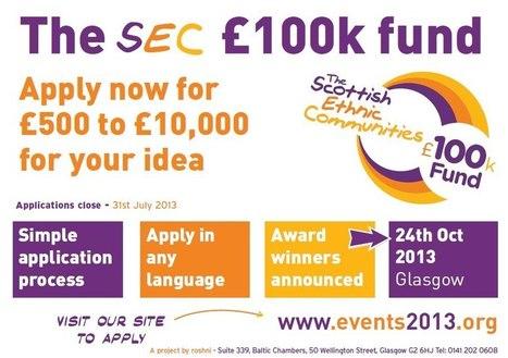 SEC 100K fund application deadline | Facebook | UK Grants | Scoop.it