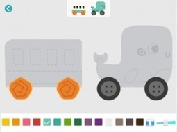 Labo Train - A creative draw & play road construction game for kids 3-7 - Teachers With Apps   Edtech PK-12   Scoop.it