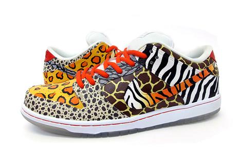 Blog - Cool Africa Safari Pattern Sneakers Custom Dunks   Comic Nike Dunks   Scoop.it