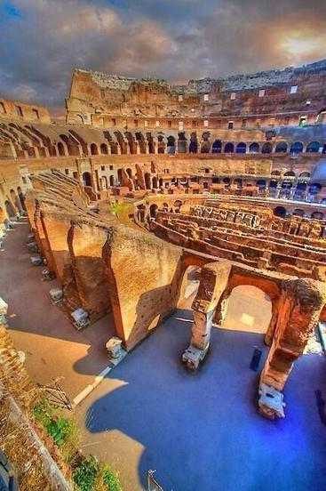 Twitter / Earth_Pics: Coloseum, Rome http://t.co/rqxxsFh8Vm | roma | Scoop.it