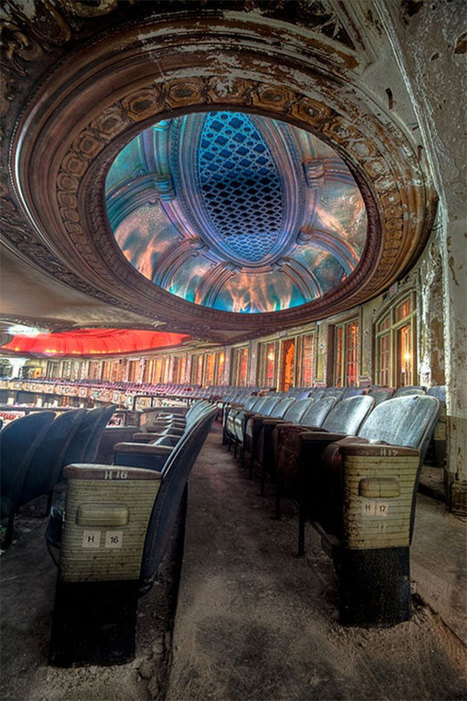The haunting beauty of abandoned theaters | Urban Decay Photography | Scoop.it