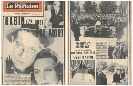 15 novembre 1976 : la France pleure la mort de son Gabin | Off the beaten tracks | Scoop.it