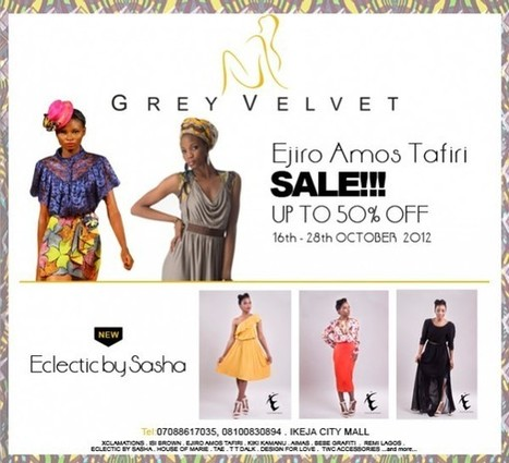 It's Sales Season at the Grey Velvet Boutique! 20% – 50% Off ... | Saving Money and Being Frugal | Scoop.it