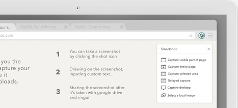 Smartshot - Screen capture, Annotate and Share screenshot [Chrome] | Time to Learn | Scoop.it