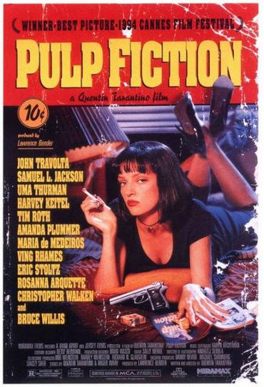 El Condensador de Fluzo » La historia del cartel de Pulp Fiction | cinema | Scoop.it