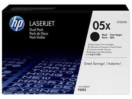HP 05X 2-pack High Yield Black Original LaserJet Toner Cartridges| Kensingtonofficemachines.com | Toner & Accesories | Scoop.it