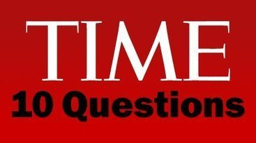 TIME 10 Questions - YouTube | Education Library and More | Scoop.it