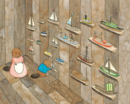 #DrawingDiversity: 'Boats for Papa' by Jessixa Bagley | Children's Book Council | Multicultural Children's Literature | Scoop.it
