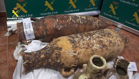 Desmantelan en Málaga una red dedicada al comercio ilegal de ánforas de yacimientos arqueológicos subacuáticos | LVDVS CHIRONIS 3.0 | Scoop.it