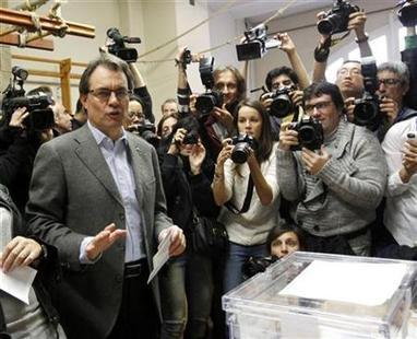 Separatists winning in Catalonia, Spain: early results | MN News Hound | Scoop.it
