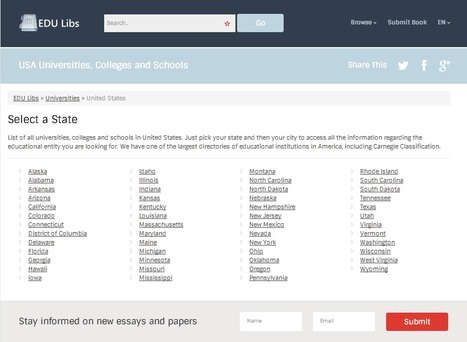 USA Universities, Colleges and Schools | EDU Libs | USA Universities, Colleges and Schools | Scoop.it