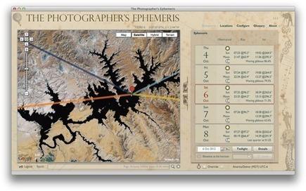 The Photographer's Ephemeris | photographie | Scoop.it