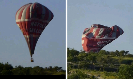 Hot-air balloons collide near Turkish tourist hotspot; 1 dead, 24 hurt | Travel News Travel Tips | Scoop.it