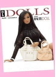 Haute Doll Magazine Gets a Relaunch… And Guess Who's On-board? - Doll Observers | Fashion Dolls | Scoop.it