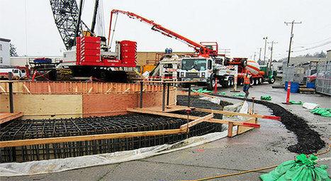 Construction Estimating | Videos - Raft Foundation Concrete Work By Laser Machine CTTC Qatar | CONSTRUCTION | Scoop.it