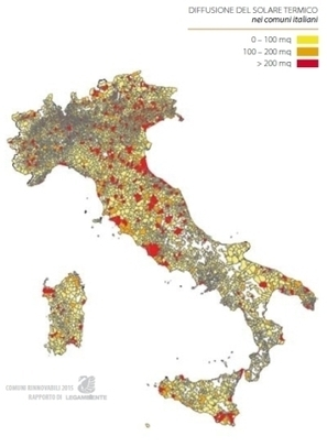 Italy: Solar Thermal Municipalities Growing in Number | Solarthermalworld | Solar thermal Process Heat | Scoop.it