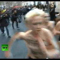 Topless Nun Protesters Physically Attacked by Anti-Gay Marriage Wingnuts | A Voice of Our Own | Scoop.it