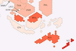 World's online population mapped | leadership and new technology | Scoop.it