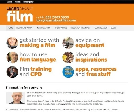Filmmaking for everyone - Learn about film | New Web 2.0 tools for education | Scoop.it
