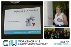 Bilan workshop n°9 : comment vendre son projet ? « Girlz In Web   Communication & marketing numérique   Scoop.it