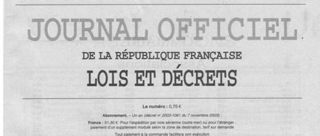 Les cinq choses à savoir sur le Journal Officiel avant sa disparition ... - Planet.fr | Bibliothèques numériques | Scoop.it