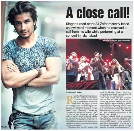 You Haven't Seen This Side Of Ali Zafar, The Family Man! | Style Den | Scoop.it
