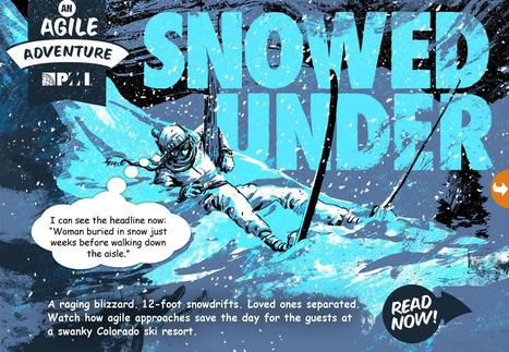 Snowed Under - An Agile Adventure (graphic novel published by PMI) ....and A survey :) | Project Management | Scoop.it