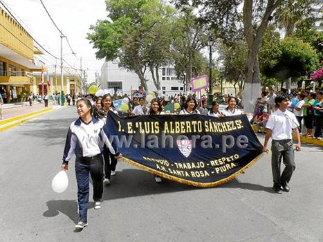 Diario La Hora | Marchan en contra de violencia escolar | Violencia Escolar | Scoop.it