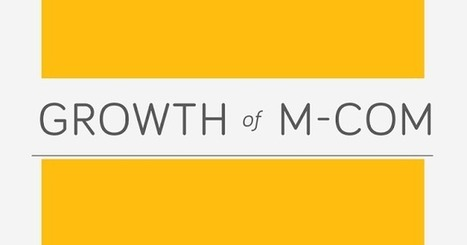 Growth Of M-Commerce | Tips Builder | Mobile Marketing & M-commerce | Scoop.it