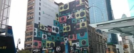 Mega pubblicità del Play Music a New York: cosa ci dobbiamo aspettare?   IL MARKETTARO   Scoop.it