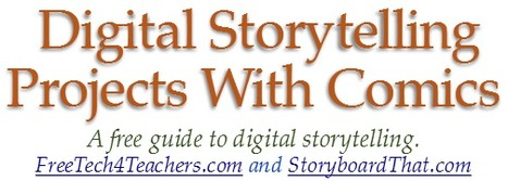 Free Ebook - Digital Storytelling With Comics | Free Technology for Teachers | How to find and tell your story | Scoop.it