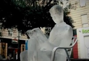 700 lives. 700 ice statues melting | Future Of Advertising | Scoop.it