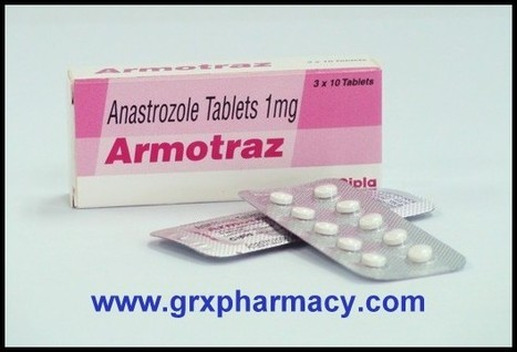 Armotraz ( Anastrozole Tablet) | Grxpharmacy | Scoop.it