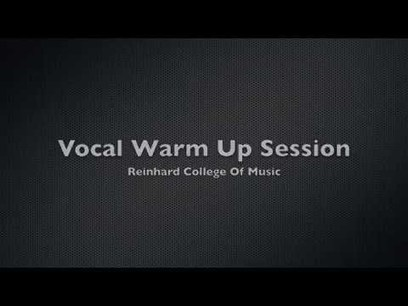 Singing Lessons - Vocal Warm Up Exercises (PART 1 of 3) | Just Music Lessons | Scoop.it
