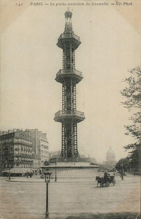 Puits artésien de Grenelle. | Paris-1900 | Famille Louis-Georges Mulot | Scoop.it