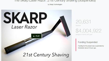 Il rasoio laser non esiste: KickStarter sospende il crowdfunding - Wired.it | Crowdfunding | Scoop.it