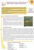L'agroécologie en action : quelles voies pour la modernisation écologique de l'agriculture ? - Focus PSDR3 - Midi-Pyrénées | PSDR - Pour et Sur le Développement Régional en Midi-Pyrénées | Scoop.it