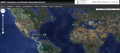 RSOE EDIS - Emergency and Disaster Information Service | TIG | Scoop.it