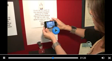 QR Codes in the Classroom « QReate and Track (by interlinkONE ... | Teaching with QR Codes | Scoop.it
