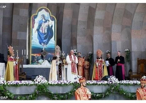 Tretí deň v Arménsku: Katolikos požehnal pápeža a celú Katolícku cirkev | Správy Výveska | Scoop.it