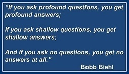 Ask Profound Questions…Get Profound Answers | Surviving Leadership Chaos | Scoop.it