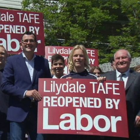 Lilydale TAFE to reopen three years on from funding cuts closure | TAFE too valuable to lose | Scoop.it