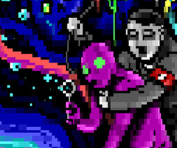 Join R2-D2 and Hitler on an unforgettable ANSI acid trip | ASCII Art | Scoop.it