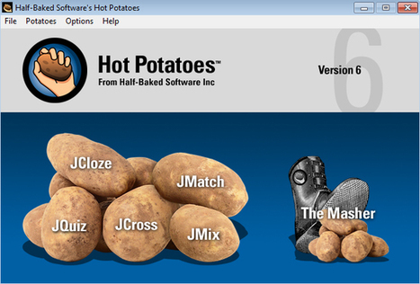 Creating Interactive Web-based Exercises in Hot Potatoes (TESL-EJ review) | TEFL & Ed Tech | Scoop.it