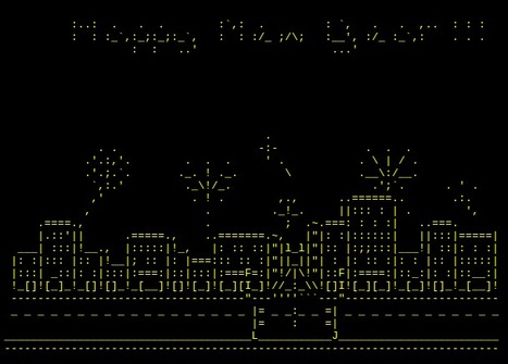 Happy new year from Valkyrie | ASCII Art | Scoop.it