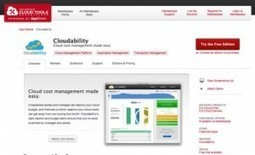 Rackspace has upgraded their Cloud Tools Marketplace and added Cloudability « Cloudability | Cloud Computing News | Scoop.it