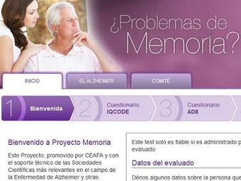 Una web permite detectar desde casa los síntomas del Alzhéimer | Salud 2.0 | Karmeneb | Scoop.it