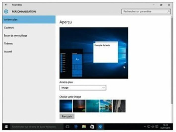 Windows 10 - Personnaliser l'arrière-plan du bureau | TIC et TICE mais... en français | Scoop.it