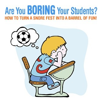 Are You Boring Your Students? How to Turn a Snore Fest into a Barrel of Fun! | Create, Innovate & Evaluate in Higher Education | Scoop.it